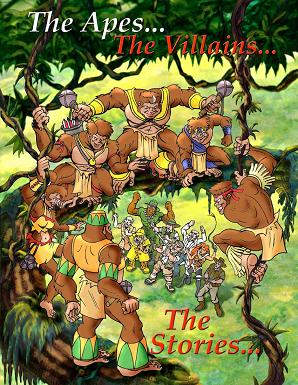 Avenging Apes Cover 2006