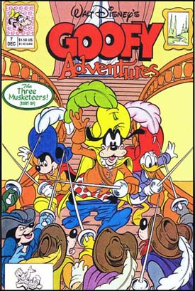Goofy Adventures, comics, disney comics, 90's comics, animation comics, keith tucker comics