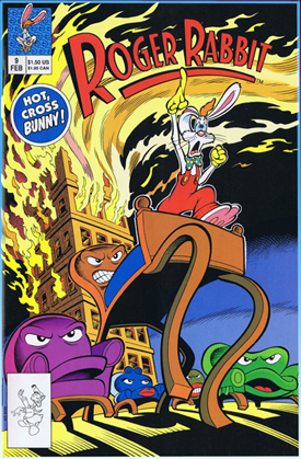 Roger Rabbit comics, comics, disney comics, 90's comics, animation comics, keith tucker comics