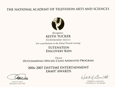 Emmy for Tutenstein